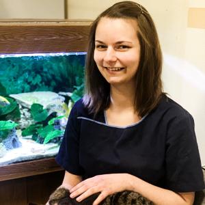 Tierärztin Sarah Schreiber